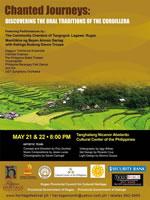Agimat : Music » Ifugao and Kalinga chanters-in concert at CCP »