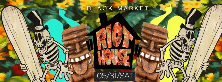Riot House: Luau Party!