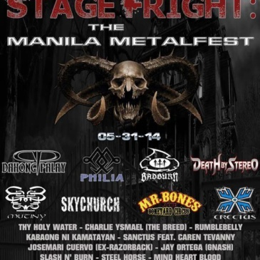 Stage Fright (Manila Metal Fest)