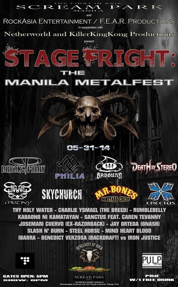 Stage Fright (Manila Metal Fest)