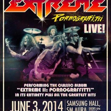 Pornograffitti Live 2014: Extreme LIVE in Manila
