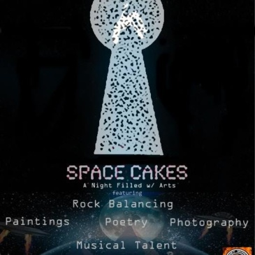Space Cakes, A Night Filled with Arts