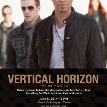 Vertical Horizon Live in Manila