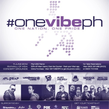 #OneVibePH: One Nation, One Pride
