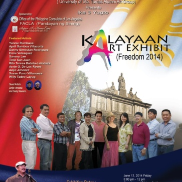 Kalayaan Art Exhibit (Freedom 2014)