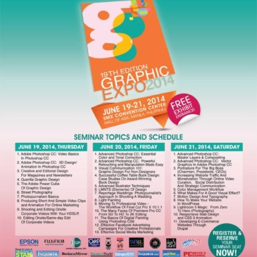 19th Graphic Expo 2014