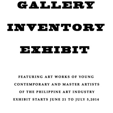 Gallery Inventory Exhibit