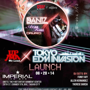 Tokyo EDM Invasion: The Launch Party