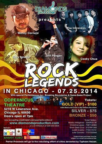 Rock Legends in Chicago