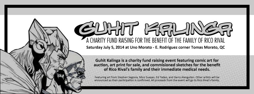 Guhit Kalinga: A Charity Fund Raising for the Benefit of the Family of Rico Rival