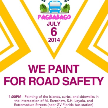 We Paint for Road Safety