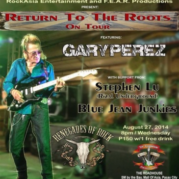 Return to the Roots On Tour featuring Gary Perez