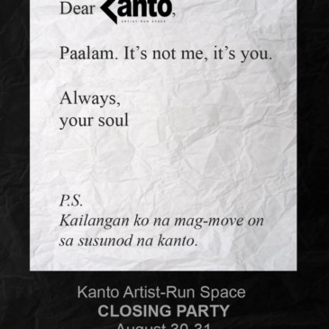Kanto Artist-Run Space Closing Party | Send Off to Another Dimesion