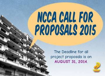 NCCA Call for Proposals 2015
