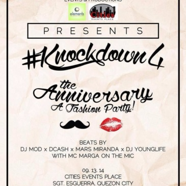 #Knockdown 4: The Anniversary