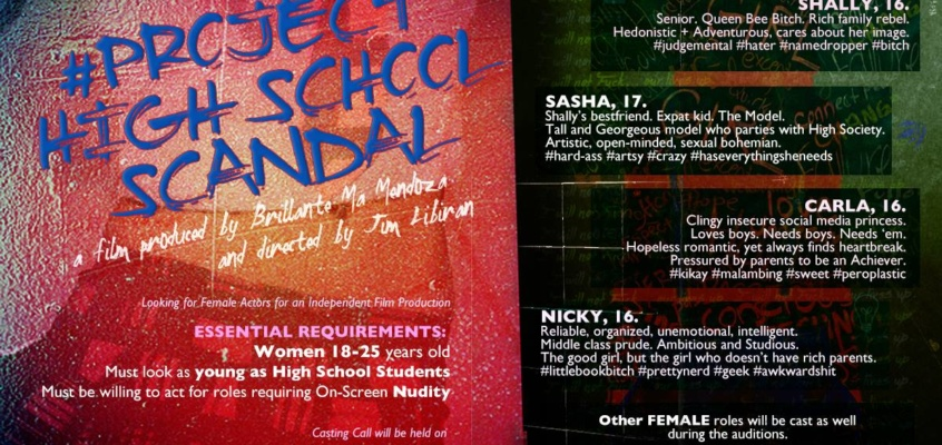 Project High School Scandal Casting Call