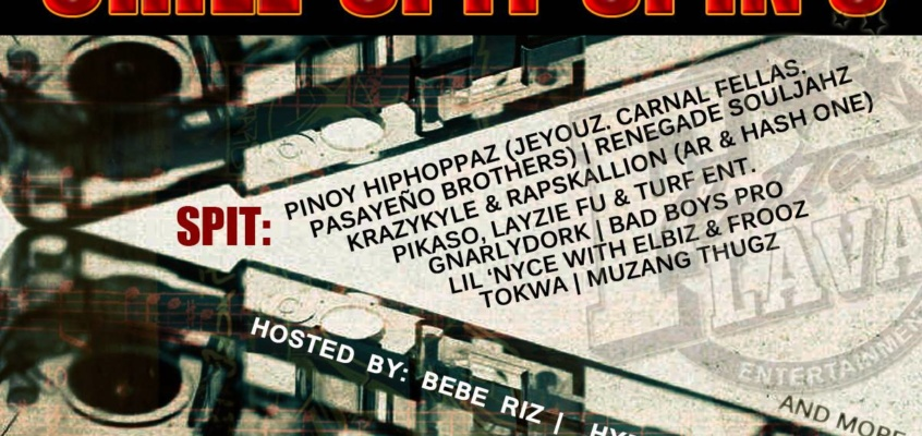 #ChillSpitSpin2014 Part 3: A Pinoy Hiphoppaz Project