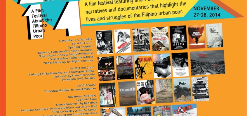 CineMaralita: A Film Festival About the Philippine Urban Poor