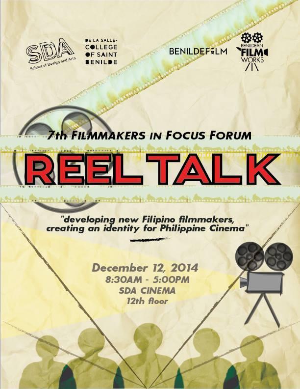 7th Filmmakers in Focus Forum: Reel Talk
