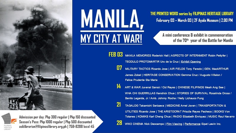 Manila, My City at War!