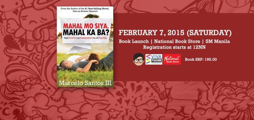 """Mahal Mo Siya. Mahal Ka Ba?"" Book Launch"