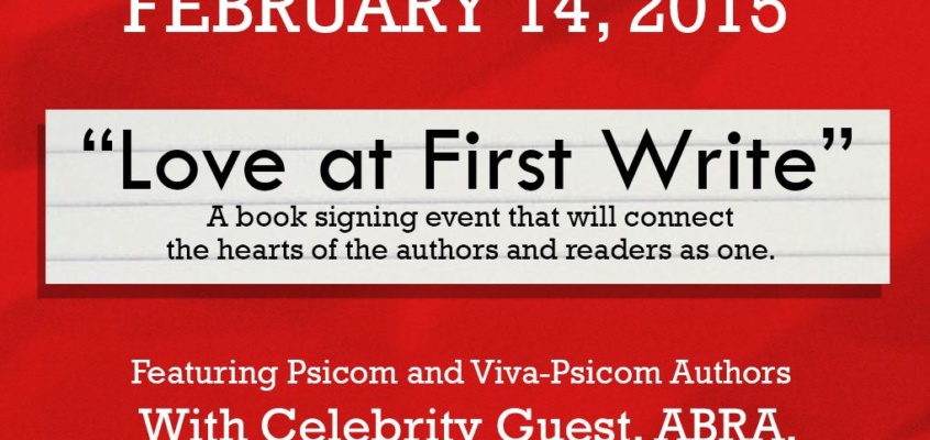 Love at First Write, Book Signing