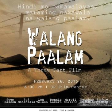 """""""Walang Paalam"""" (No Goodbyes) Premiere"""