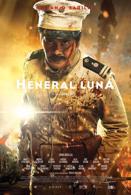 Heneral Luna burns the flag August 22, 2015 9:32 pm by KATRINA STUART SANTIAGO RADIKAL CHIKA
