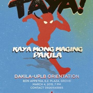 Taya!: Dakila UPLB Orientation