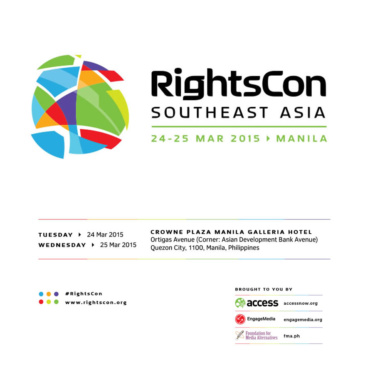 RightsCon Southeast Asia