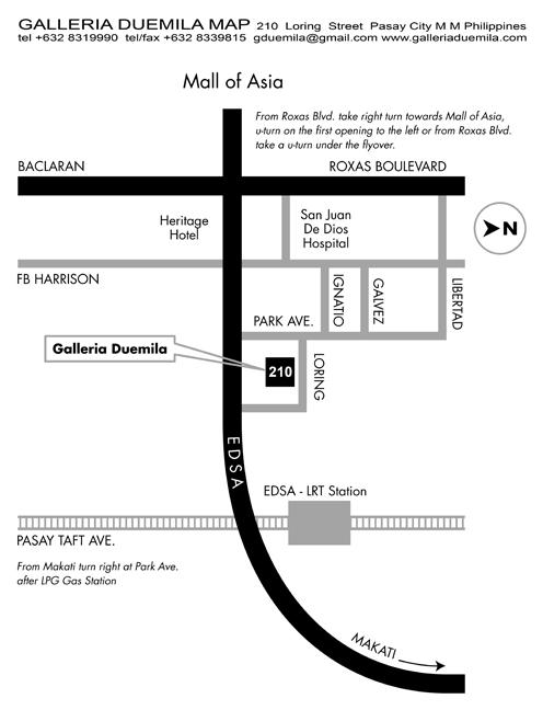 Galleria Duemila Map