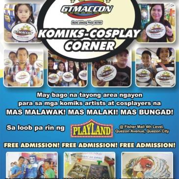 GTMACCON Komiks Cosplay Corner