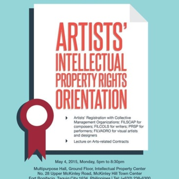 Artists' Intellectual Property Rights Orientation