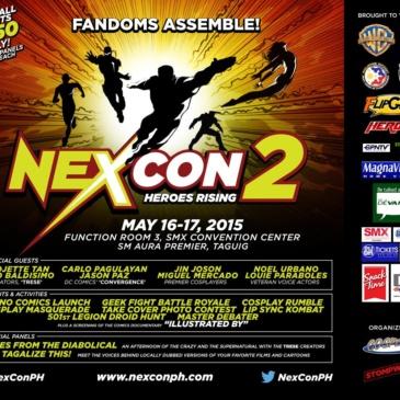 NexCon 2: Heroes Rising!