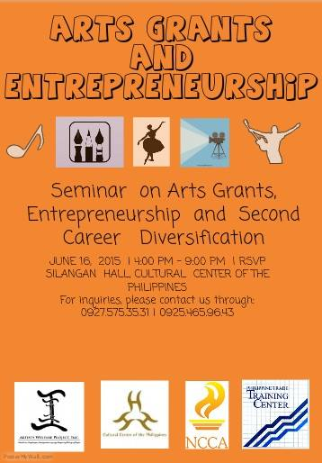 Arts Grants and Entrepreneurship