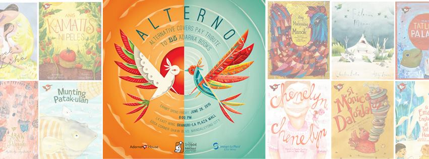 Alterno: An Ang InK exhibit for Adarna House's 35th year
