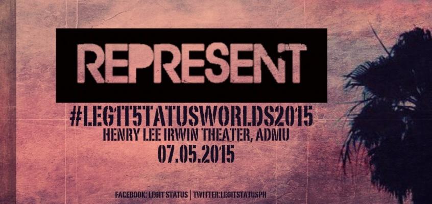 REPRESENT! The Legit Status Fundraising Concerts