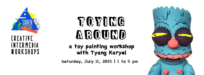 TOYING AROUND – Vinyl Toy Painting Workshop