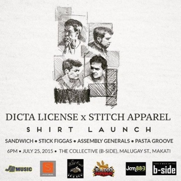 Dicta License x Stitch Apparel Shirt Launch