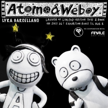 Atomo & Weboy Toy and Book Launch