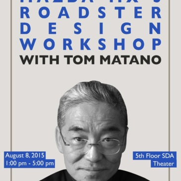 Mazda MX-5 Roadster Design Workshop with Tom Matano