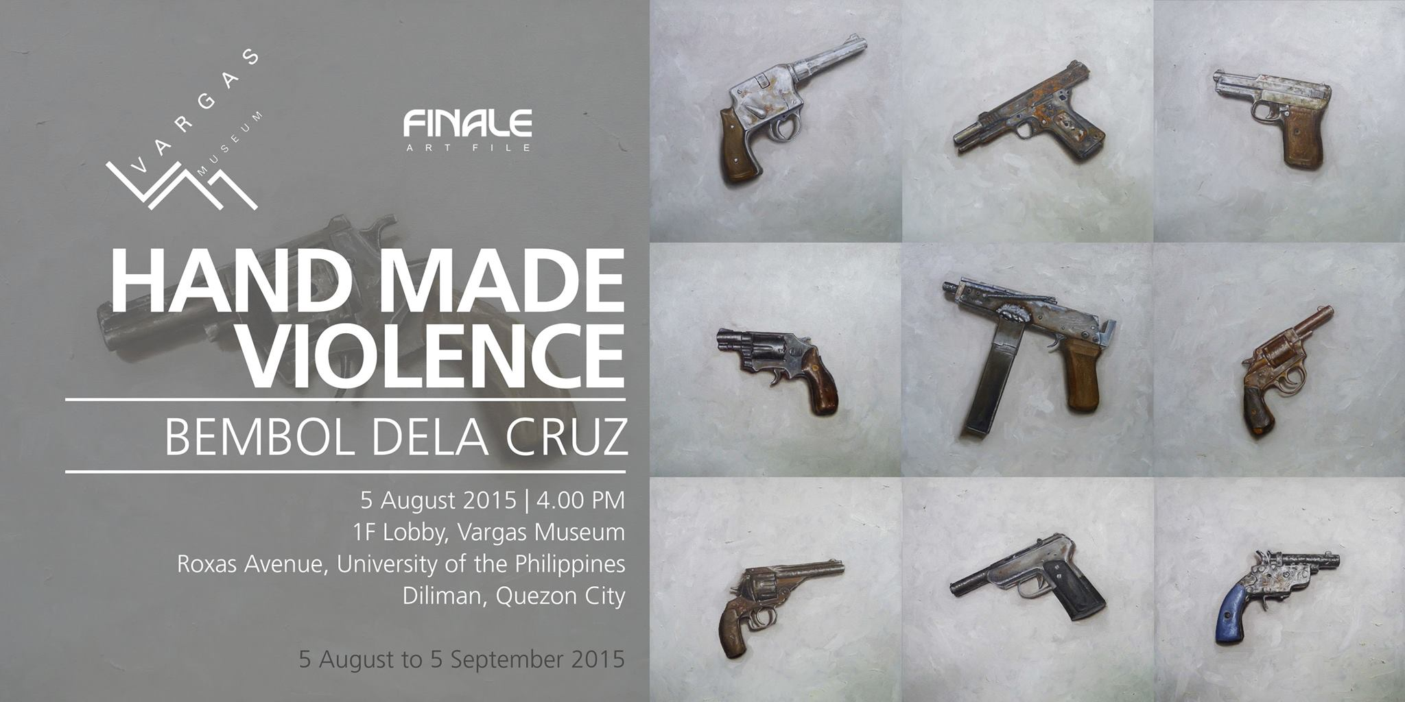 Hand Made Violence | Bembol Dela Cruz | Agimat: Sining at ...