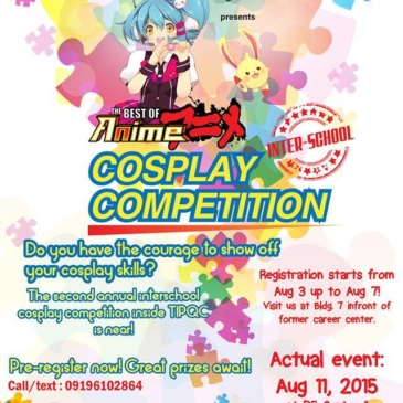 The Best of Anime | Inter-School Cosplay Competition