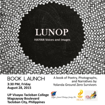 LUNOP: Haiyan Voices and Images BOOK LAUNCH