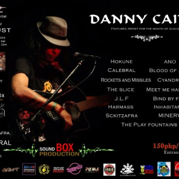 Sound Box Featured Artist for the Month: Danny Caing