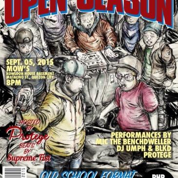 Open Season 2015: English MC Freestyle Battle Tournament