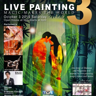 Live Painting 3: Magic Makes the World