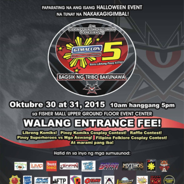 GTMACCON Season 5 Pre-event | Bagsik ng Tribo Bakunawa