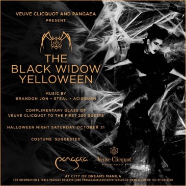 The Black Widow Yelloween