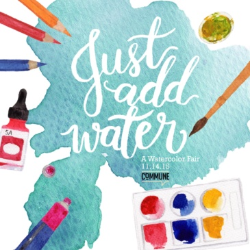Just Add Water: A Watercolor Fair